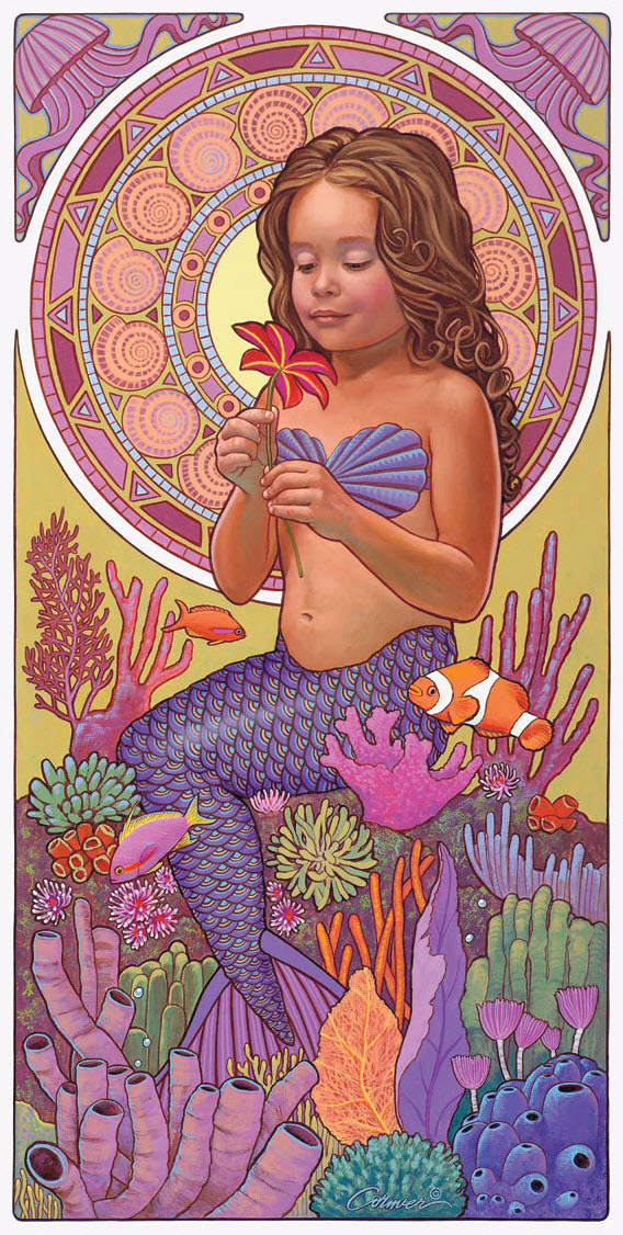 Mia-The-Mermaid-Poster-Print
