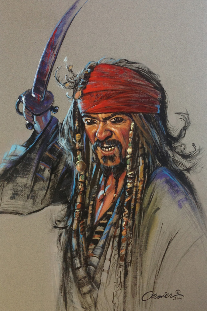 Pirate-With-Sword-Giclee