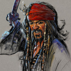 Pirate With Sword