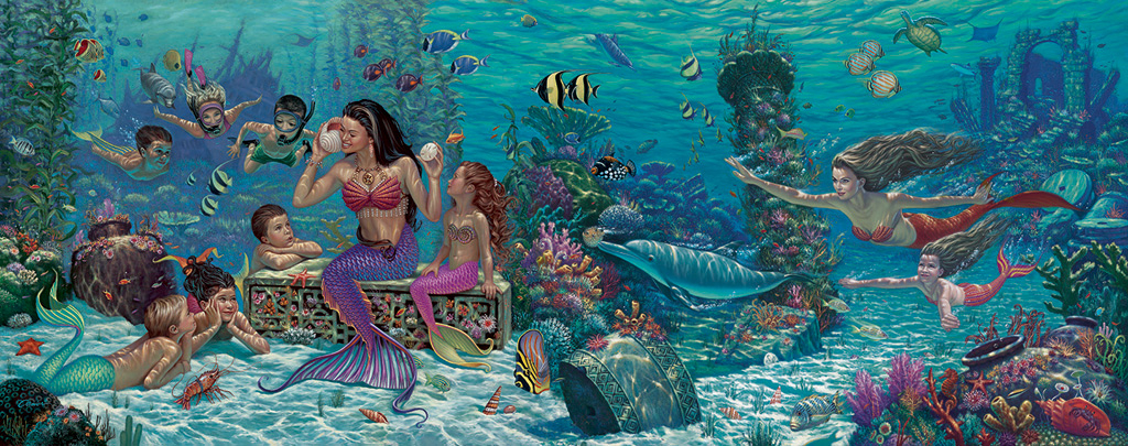 Mermaid-Medley-Giclee