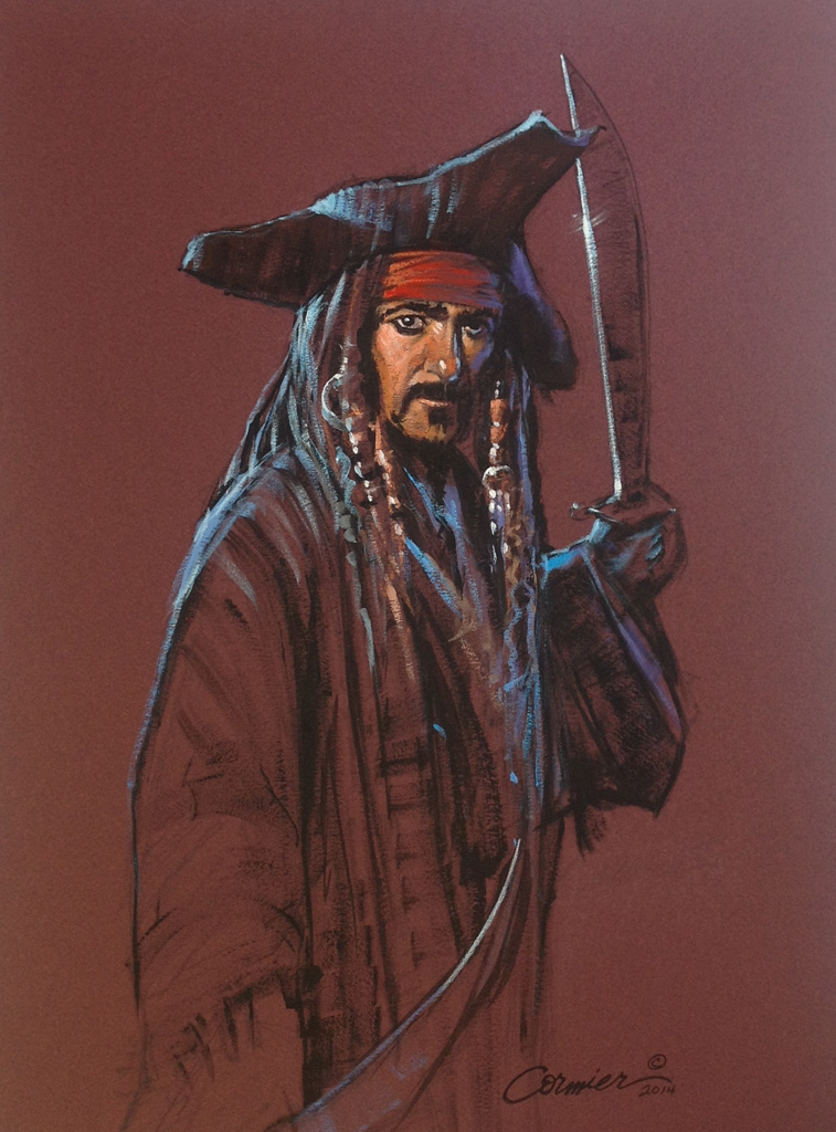 Pirate-and-Two-Swords-Giclee