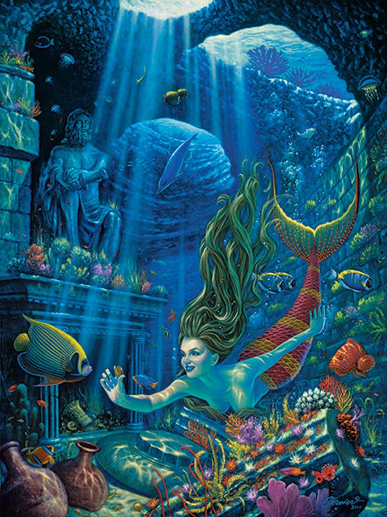 Poseidons=Treaures-Poster-Print