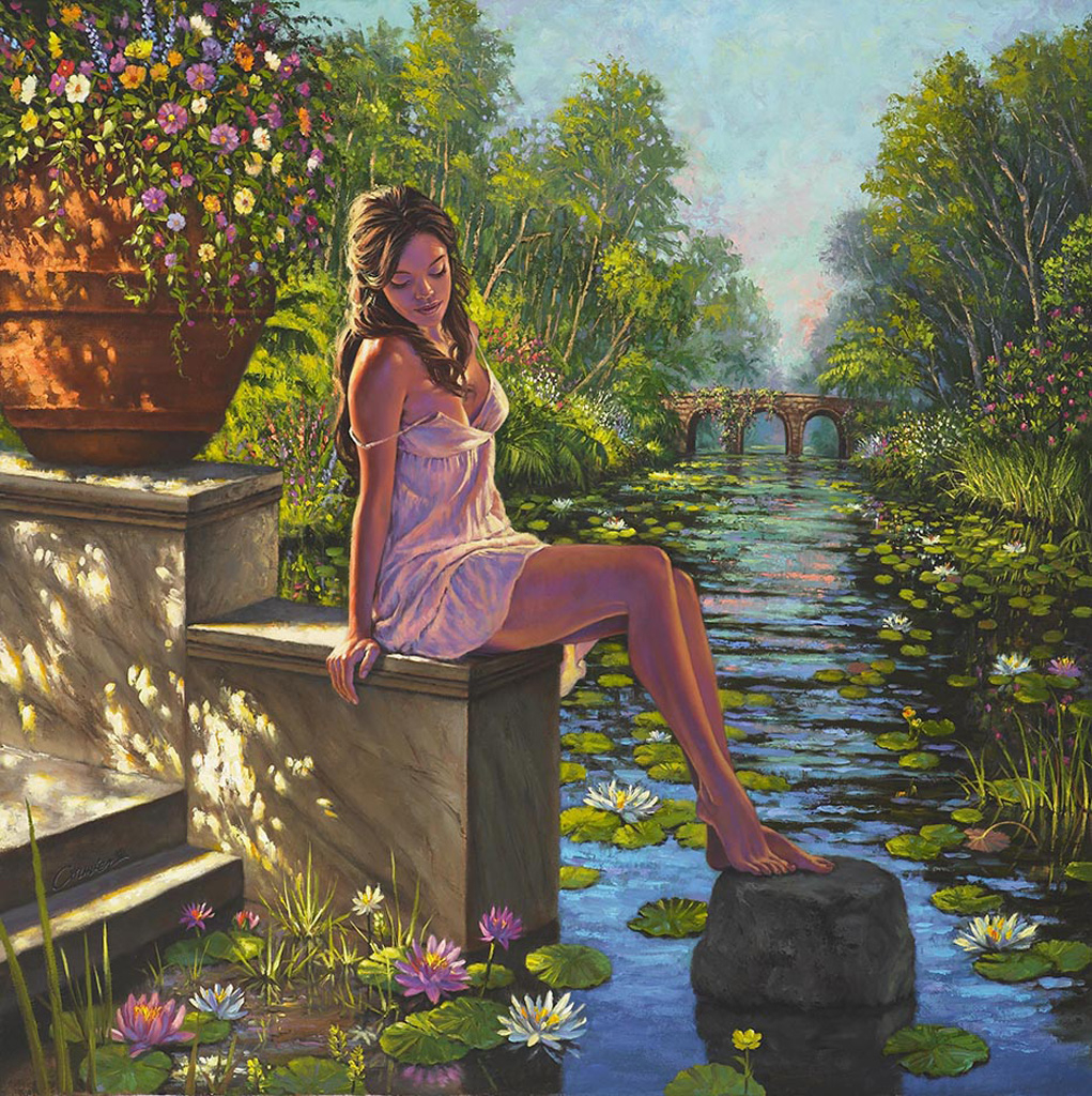 Secret Garden: Wil Cormier Fine Art Gallery