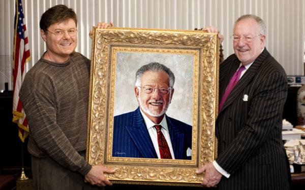 Artist With Mayor Goodman Portraitcrop600x375
